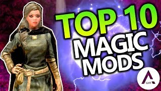 Skyrim Special Edition - Top 10 Magic Mods - PlayStation 4 & Xbox 1 Mods