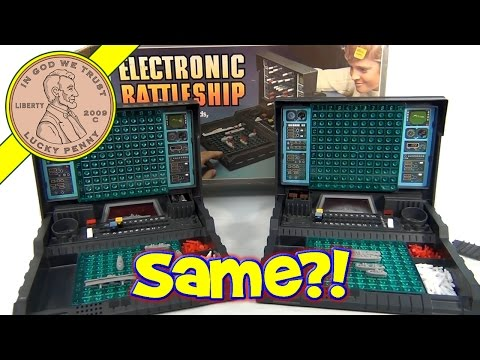 Electronic Battleship Difference Between 77 And 82 - How To Program A 1977 Battleship Version