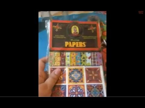 DIY Scrapbook Paper