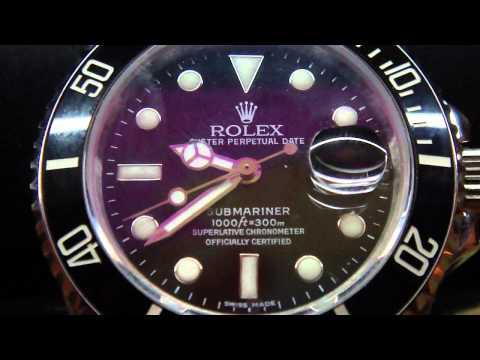 Rolex Submariner Sweep