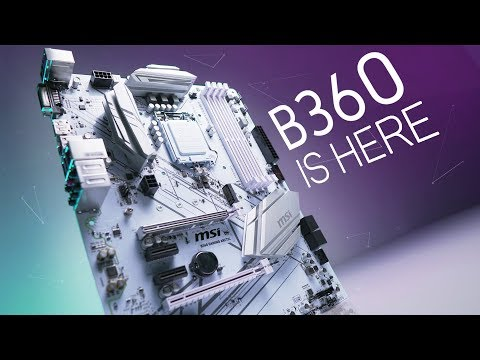 MSI ARCTIC B360 Motherboard – Finally, Affordable Coffee-Lake!