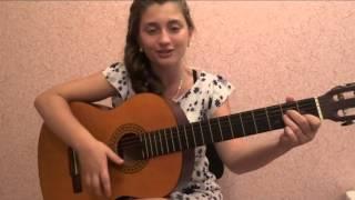 Алые паруса - очень легкая песня для НОВИЧКОВ!!!!