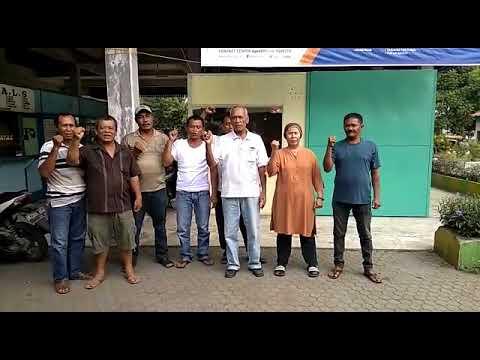 Polsek Sunggal : Dukungan Masyarakat Jl. Pinang Baris Medan Terhadap Pilkada Sumut 2018
