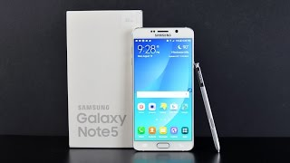Samsung Galaxy Note 5 Review Videos