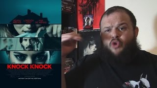 Knock Knock (2015) movie review horror thriller Eli Roth