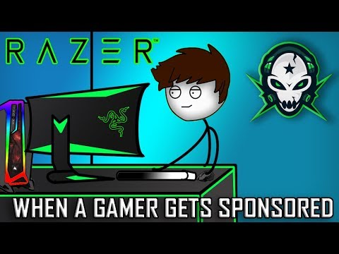 When A Gamer Gets Sponsored By RaZeR