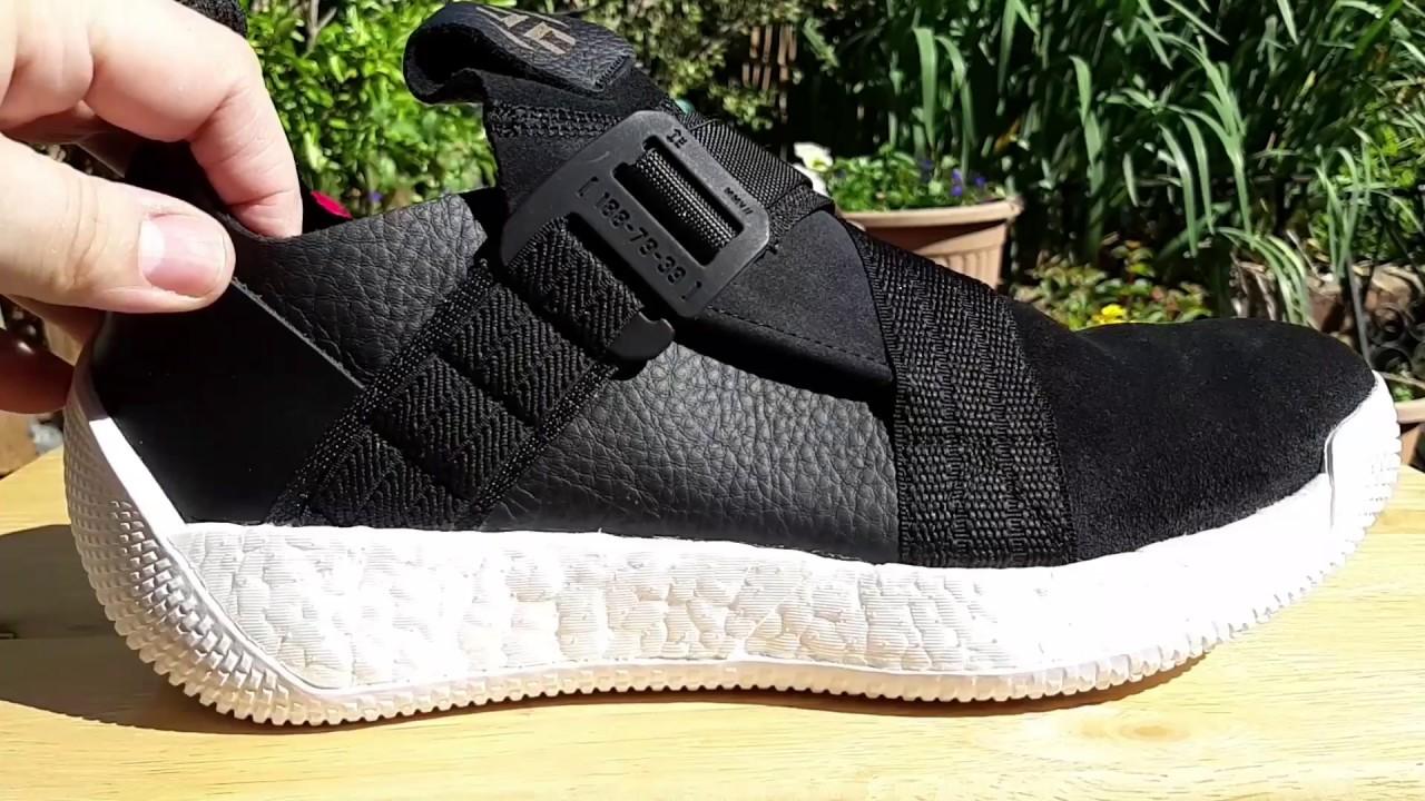 a91c3df8976 Adidas Harden VOL. 2 LS BUCKLE Black Leather.