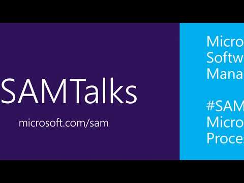 #SAMTalks - Clarifying Microsoft's Audit Process