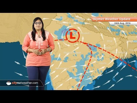 Weather Forecast for Aug 24: Monsoon rains in Rajasthan, MP, Light rain in Delhi, Chennai