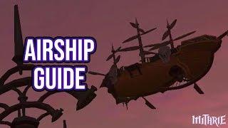 FFXIV Heavensward 3.0 0682 Free Company Airship Guide