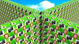 1v1v1v1 UNSPEAKABLE LUCKY BLOCK WALLS BATTLE! thumbnail