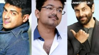 Vijay and Ajith to act together in Vikram album | Vikram directing Spirit of Chennai album