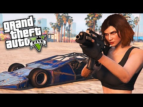 GTA 5 Online - SPECIAL VEHICLE MISSIONS!! (Ramp Buggy)
