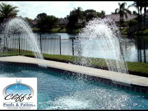 Swimming Pool Water Features Extreme Rain Arc 2 Of 3