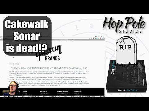 Cakewalk SONAR is dead - let's talk about consequences and alternatives