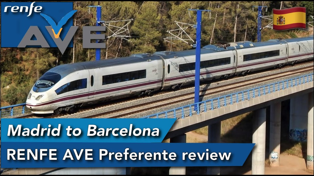 RENFE AVE review onboard the S-103, the German ICE sibling