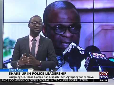 Shakeup in Police Leadership - News Desk on Joy News (18-10-17)