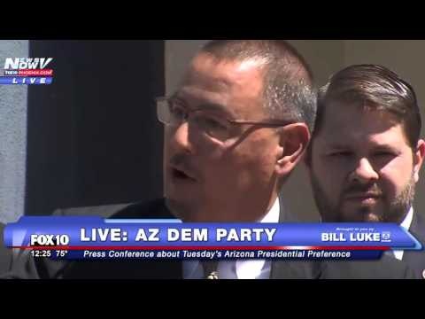 The Arizona Democratic Party Goes Off On Voter Experience Troubles