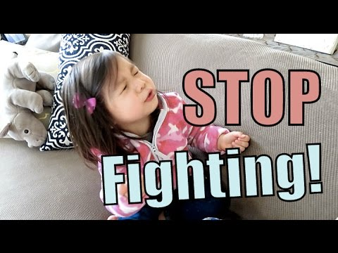 Stop Fighting! - March 21, 2016 -  ItsJudysLife Vlogs