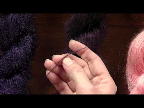 Mohair Yarn, Getting Started Knitting with Eunny Jang, from Knitting Daily TV Episode 603