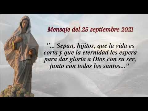 REFLEXION MENSAJE DEL 25 DE SEPTIEMBRE DE 2021 - P Gustavo E. Jamut