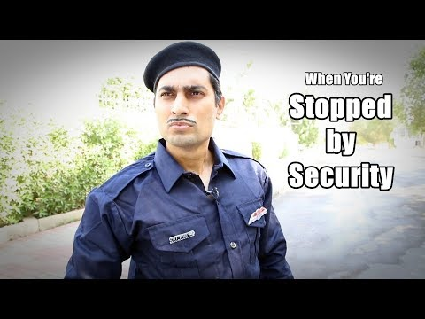 """""""The Security Guard"""" by Danish Ali"""