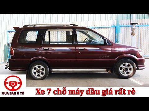Bán xe 7 chỗ máy dầu giá rẻ Isuzu hilander 2004   Phúc Việt mua bán ô tô cũ