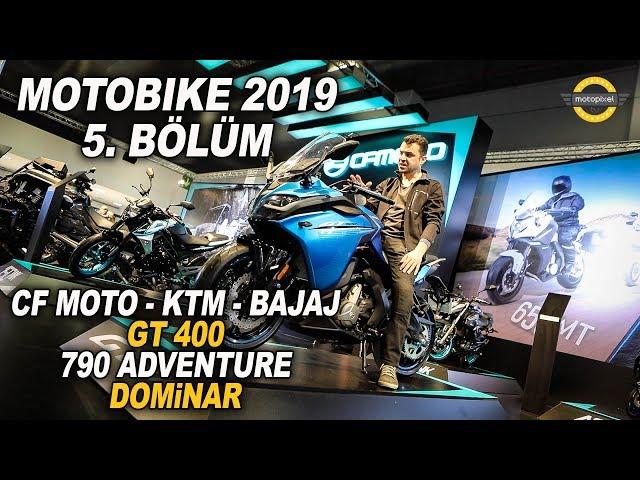 Motobike 2019 - Cf Moto/KTM/Bajaj Standı