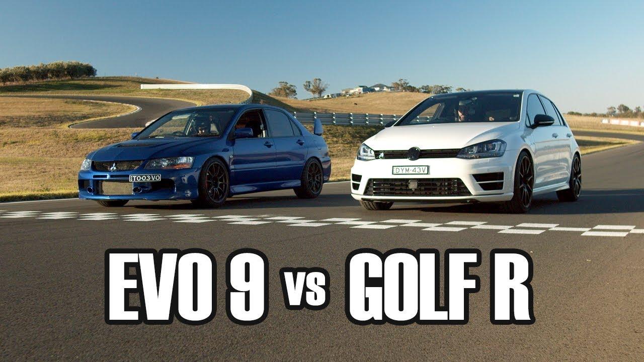 Evo 9 vs Golf R [Final Battle]