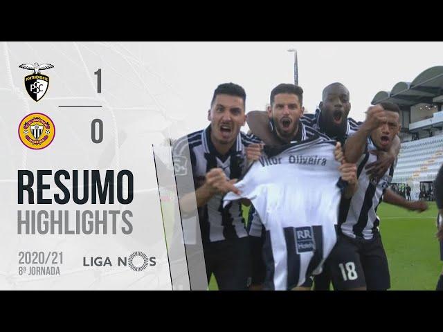 Highlights | Resumo: Portimonense 1-0 CD Nacional (Liga 20/21 #8)