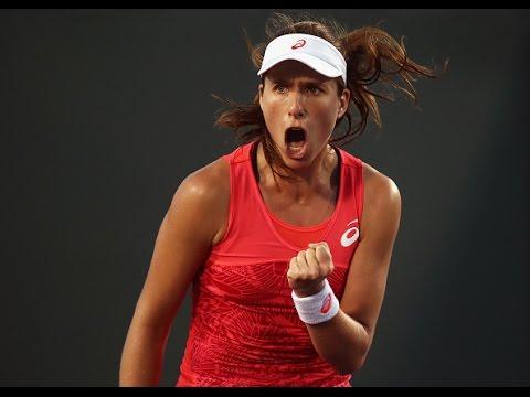 2017 Miami Open Round of 16 | Johanna Konta vs Lara Arruabarrena | WTA Highlights