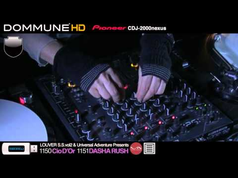 Cio D'Or, Dasha Rush Live @ Dommune (Part 1)