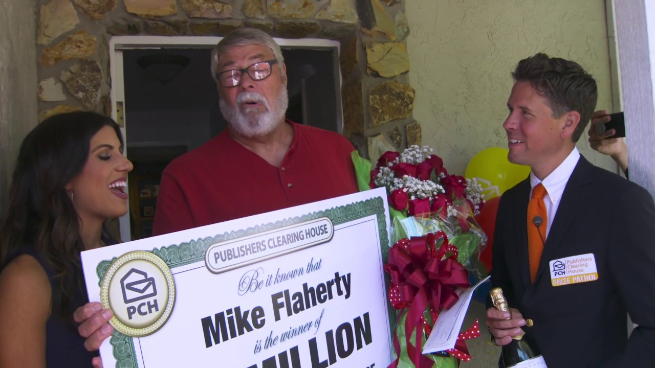 Publishers Clearing House Winners: Mike Flaherty From Valrico, FL Wins  $1,000,000