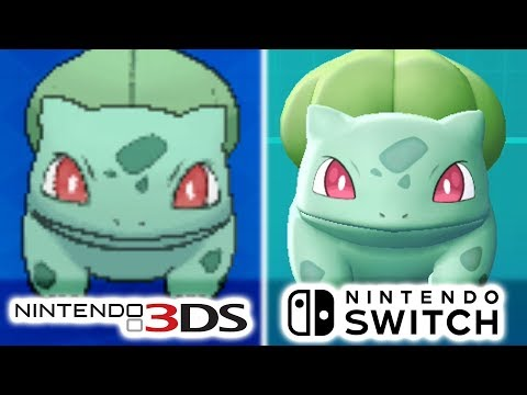 Pokémon - Nintendo 3DS Vs Nintendo Switch