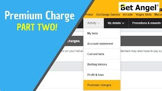 Betfair betting exchange - Betfair premium charge explained - Part two