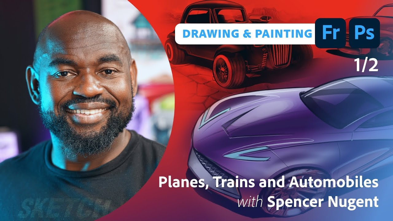 Drawing Planes, Trains & Automobiles with Spencer Nugent - 1 of 2