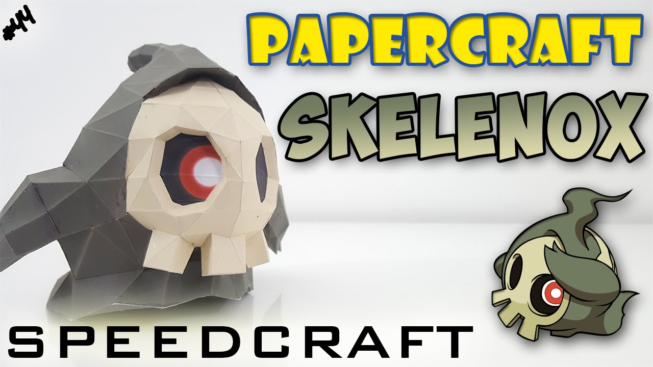 Papercraft Skelénox Le Speedcraft De La Réalisation Youtube