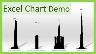 How to create a Picture Column Chart - MS Excel Tricks