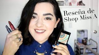 Reseña del Maquillaje de Shop Miss A | Laura Neuzeth