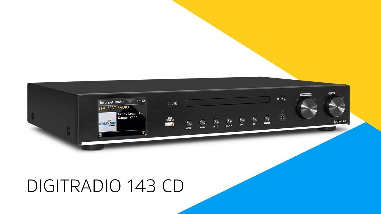 Video: DIGITRADIO 143 CD | DAB+ Hi-Fi-Komponente | TechniSat