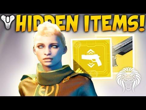 Destiny 2: HIDDEN MISSION & EXOTIC MODS! Classified Items, Birthday Gift, EDZ Activity & Exotics
