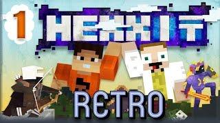 [Minecraft] Retro Hexxit - ep. 1 - POZOR METEORIT!