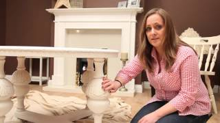 How to paint shabby chic furniture using Rust-oleum Chalky Finish