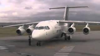 National Jet BAE146  Startup