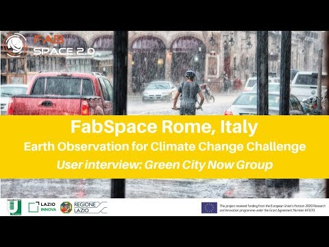 FabSpace Rome, Italy - Earth Observation for Climate Change Challenge