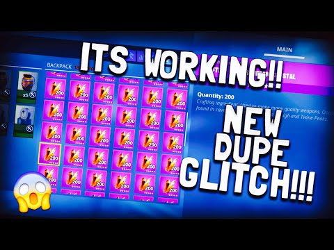New Working Method  Duplication! GLITCH Is Back Ones Again Fortnite Save The World