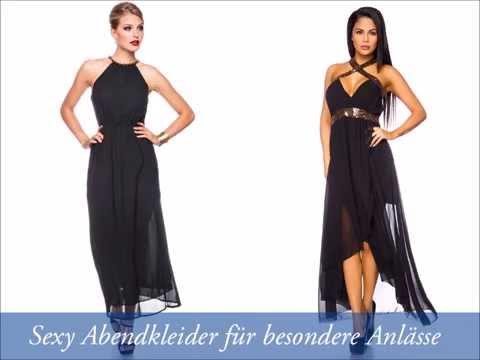 Abendkleider lang online shop gunstig