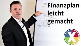 Finanzplan leicht gemacht