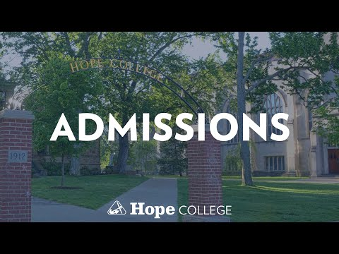 Hope College Admissions Mannequin Challenge