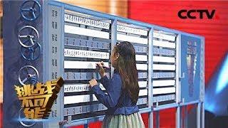 《挑战不可能 第三季》 20171224 英雄出少年 11岁少女成功挑战汉字笔画辨别速度极限 | CCTV挑战不可能官方频道